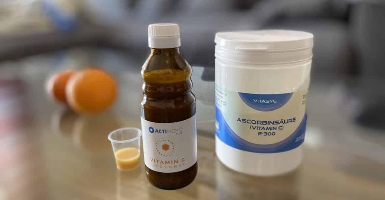 Liposomales Vitamin-C Test