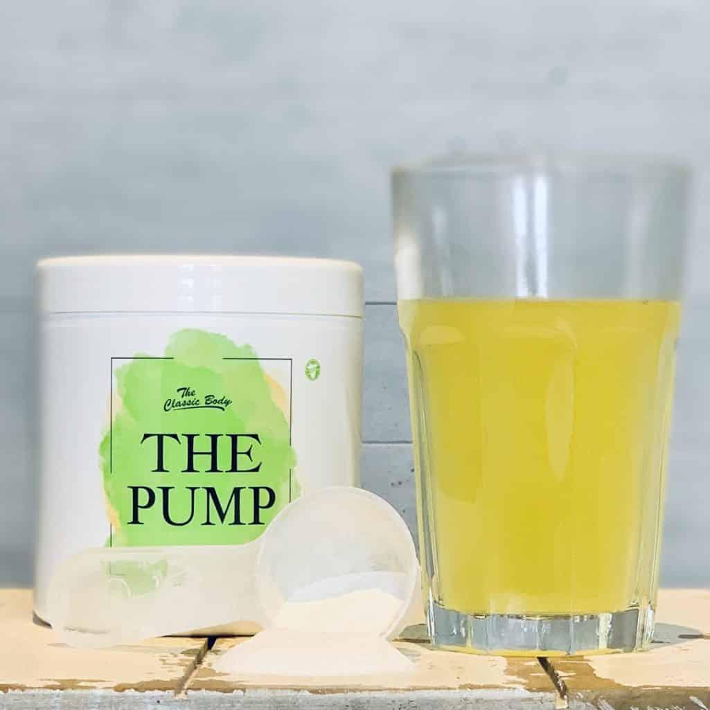 The Pump von Classic Body Nutrition im Geschmackstest