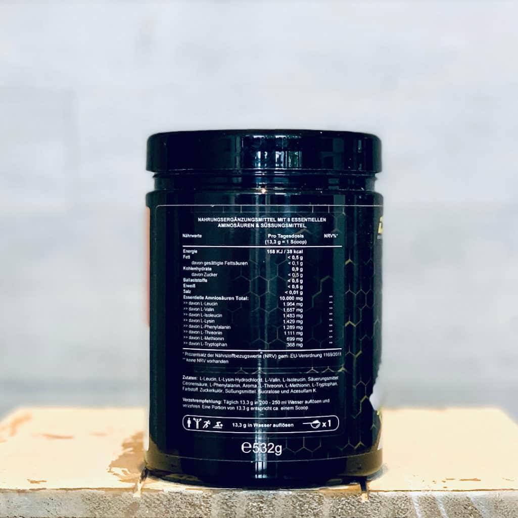 GEN - Multi Amino-EAA Pattern Code Inhtaltsstoffe und Zubereitung