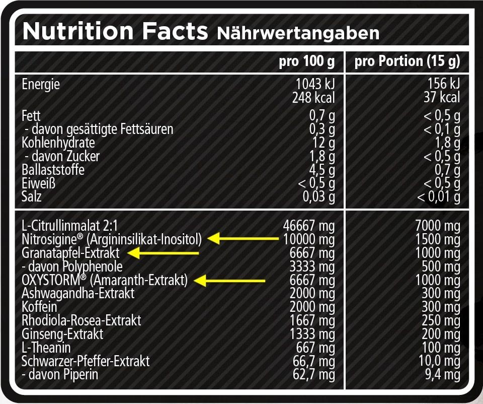 Label von Goat von Rocka Nutrition