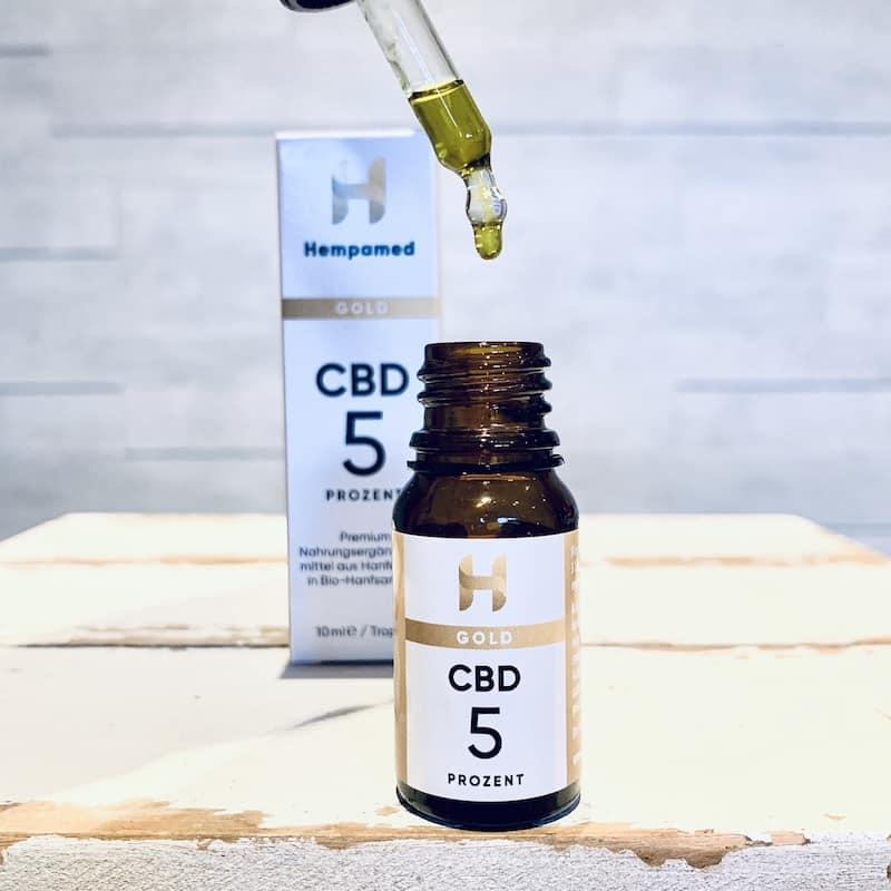 CBD-Öl-Test Hempamed-Gold