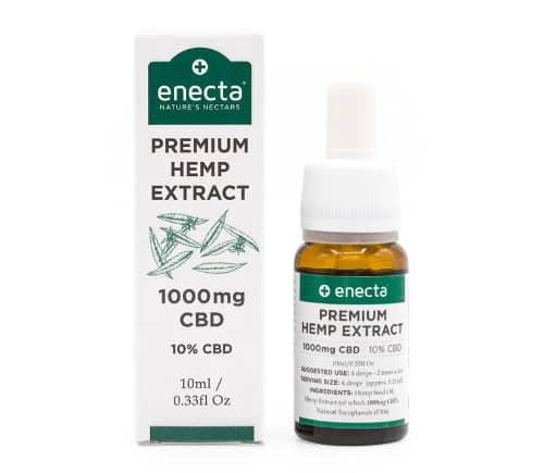 Enecta CBD-Öl Test