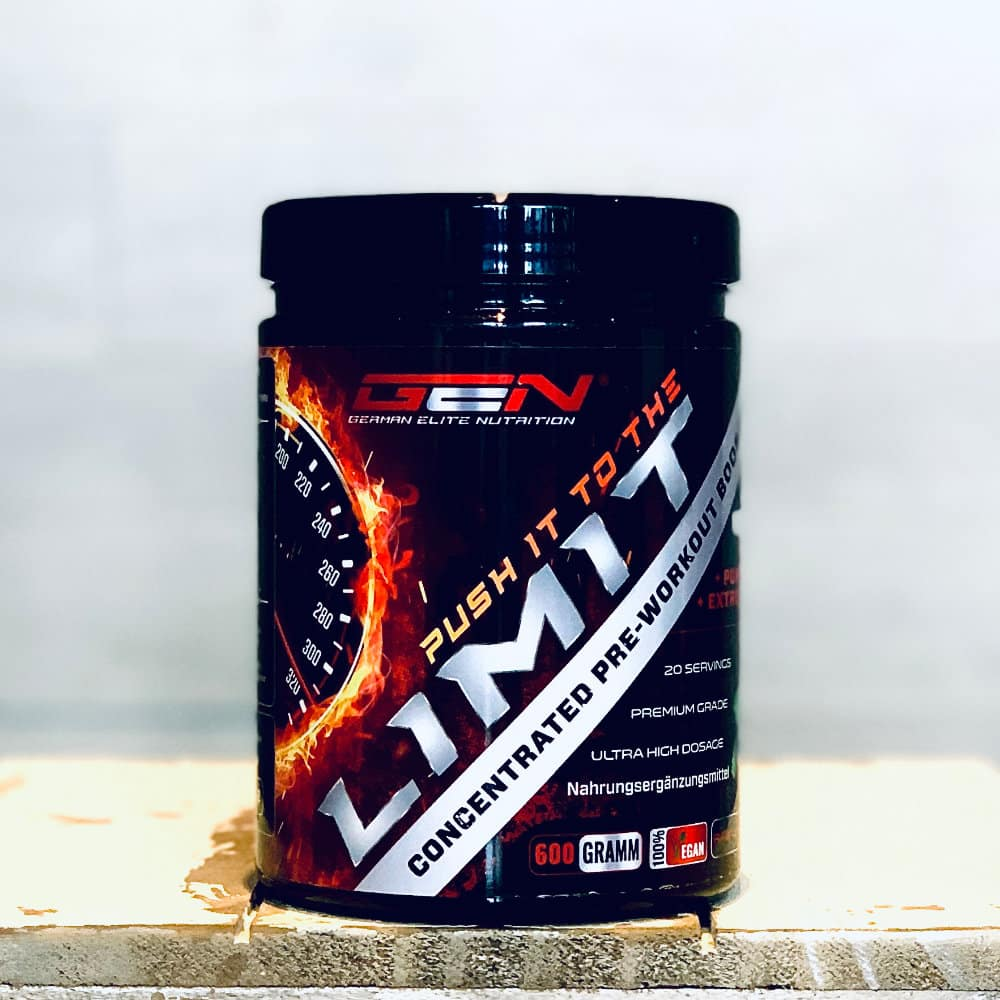 GEN Push it to the Limit concentrated Pre-Workout Booster