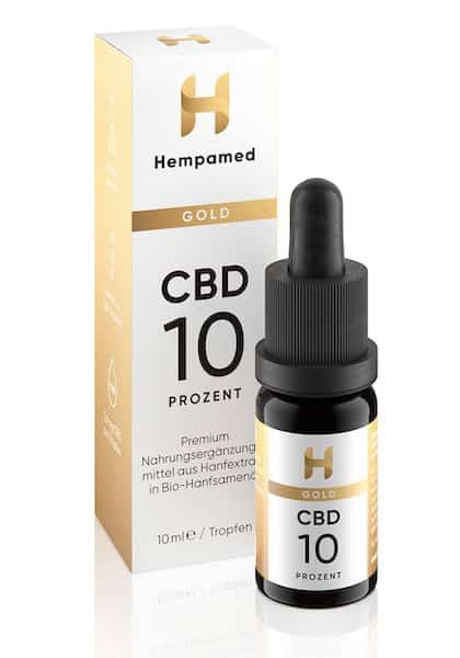 Hempamed Gold Test