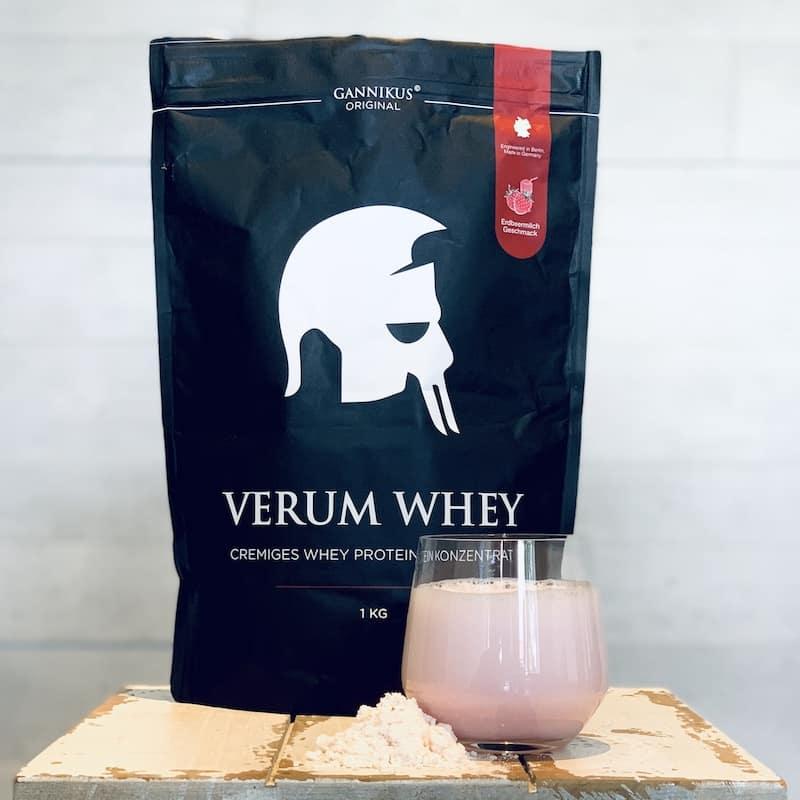 Gannikus-Verum-Whey-Erdbeermilch-Geschmack