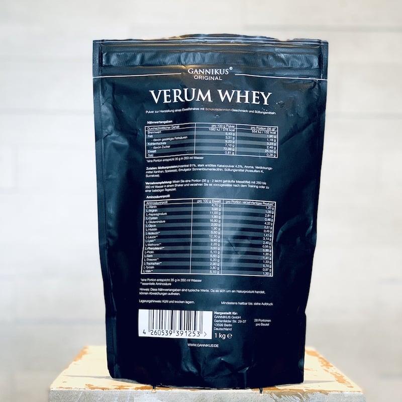 Gannikus-Verum-Whey-Schokoladenmilch-Nährwerte